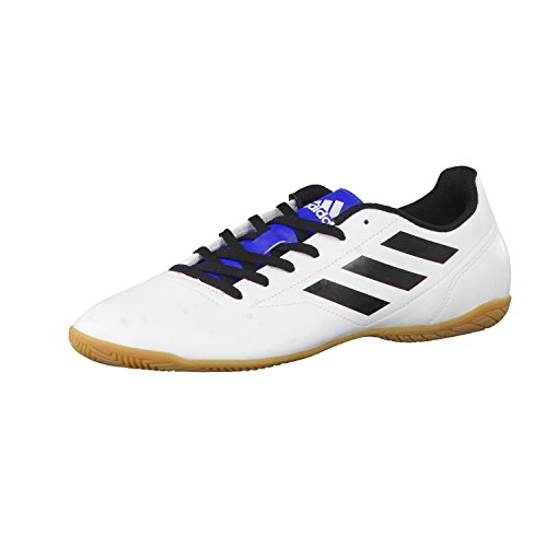 adidas Conquisto Ii In, Scarpe da Calcio Allenamento Uomo Ftwr White/Core Black/Blue