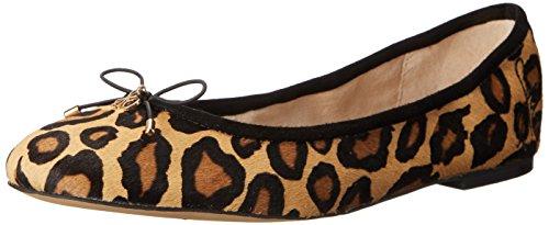 Sam Edelman Felicia, Ballerine donna Leopard Hair, Marrone (Leopard Hair), 41