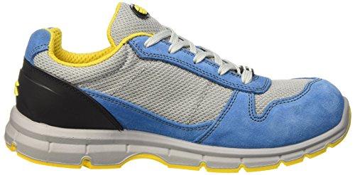 Diadora Unisex-Erwachsene Run Textile Low S1p Arbeitsschuhe Blau (Blu Cielo/grigio Alluminio)