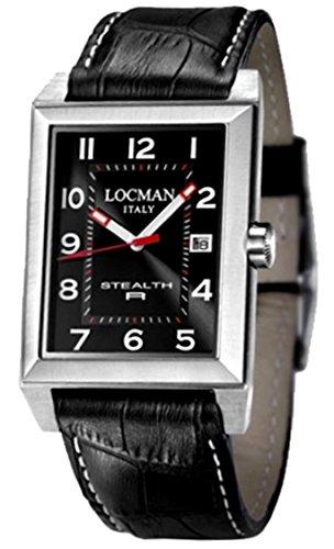 Locman 024000BKNWH2PSK_wt Montre à bracelet unisexe