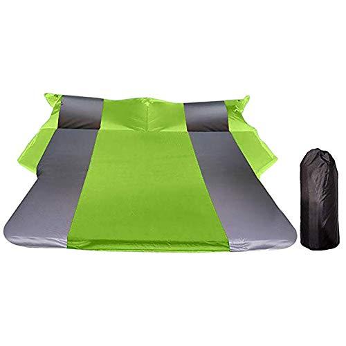 FXPCQC Auto Automatische Luftmatratze - Kofferraum Reise Verdickt Luftbett SUV Luftmatratze, Tragbare Camping Outdoor Matratze Mit Aufbewahrungstasche Für Outdoor Camping Wandern 180 * 130 cm