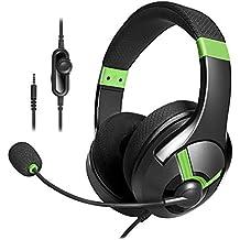 AmazonBasics - Cuffie gaming, Verde