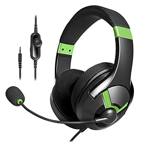 AmazonBasics - Gaming-Headset - Grün