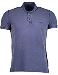 Guess Polo Homme Nore Blanc