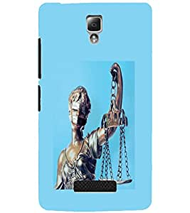 LENOVO A2010 ANDHA KANOON Back Cover by PRINTSWAG