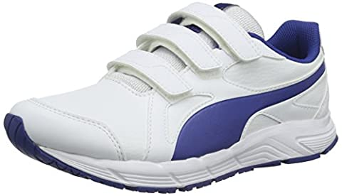 Puma Unisex-Kinder Axis v4 SL V Low-Top, Weiß (Puma White-Limoges 06), 36 EU