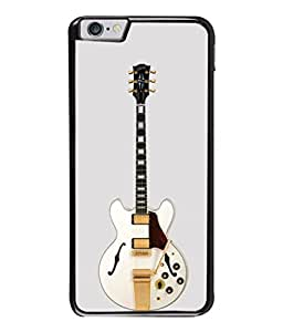 PrintVisa Designer Back Case Cover for Apple iPhone 6 (Cute Guitar In Yellow And White Design)
