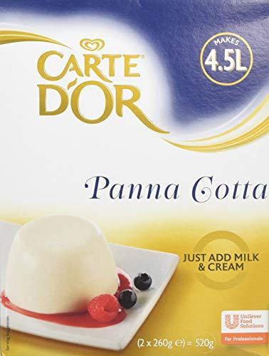 Carte D'Or Panna Cotta Dessert Powder Mix, 520g (Makes 4.5L)