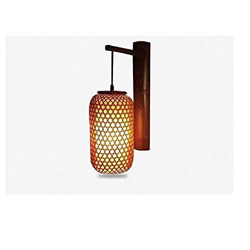 Wandleuchte In Wandleuchte Studie Hotel Restaurant Bambus Kunst Dekoration Lampe ()