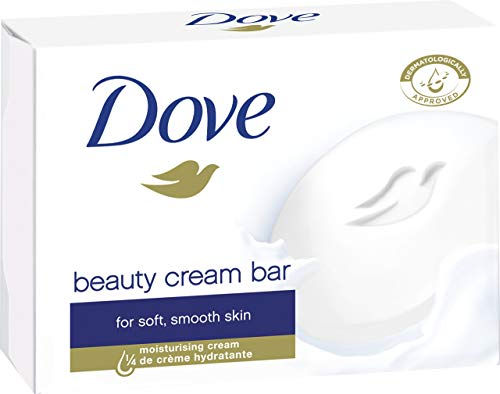 Dove Seife Bars (Dove Seife Cream, 3er Pack (3 x 100 g))
