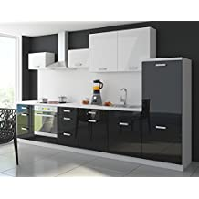 k chenzeile g nstig mit elektroger ten. Black Bedroom Furniture Sets. Home Design Ideas
