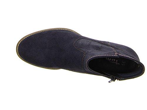 Tamaris Stivali Blu 1-25005-27 805 Navy Schwarz