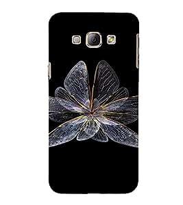 PrintVisa Butterfly Design 3D Hard Polycarbonate Designer Back Case Cover for Samsung Galaxy A8