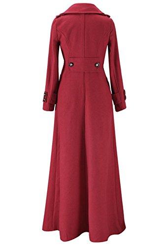 Les Femmes Élégantes Épais - Maxi Cardigans Outerweear Impers red