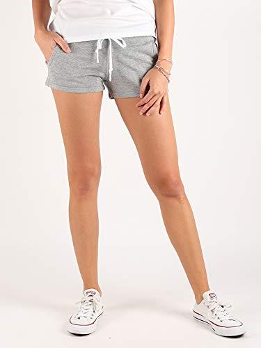 Converse Core FT Short-Shorts, Damen, Grau (Vintage Grey Heather)