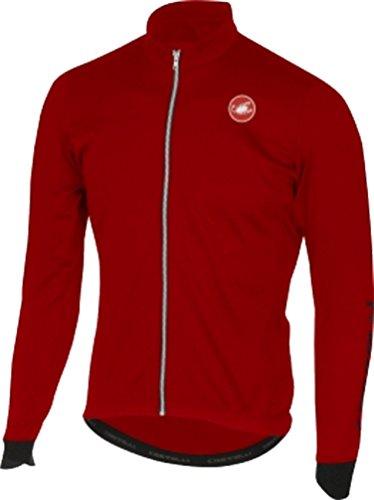 Castelli - Puro 2 FZ, Color Rojo, Talla S