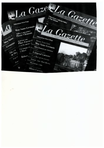 La gazette de Saint-Germain-des-Prés