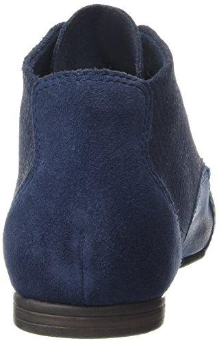 Marco Tozzi Premio 25102, Bottes courtes à doublure froide et talon mocassin femme Bleu - Blau (NAVY ANTIC 892)