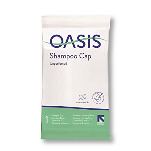 Synergy Oasis Unscented Spülen Sie Frei Shampoo Cap - Mikrowellengeeignet (Pack of 15) -