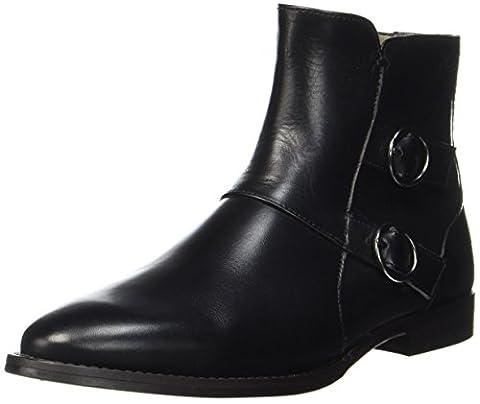 Marc O'Polo Flat Heel Bootie 70714156001113, Bottines Femme, Schwarz (Black), 41 EU