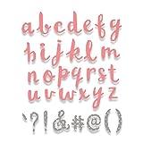Sizzix Fustella Bigz Alfabeto, Multicolore, Xl
