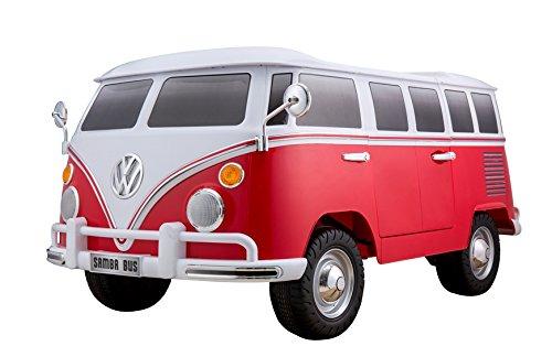 BC Baby Voitures BC babycoches-coche électrique 12V pour Enfants Volkswagen Camper, Deux Places,...