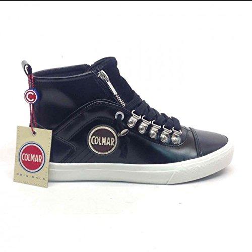 COLMAR Durden Neat sneakers lacci sportiva ECO PELLE BLACK NERO 097 37