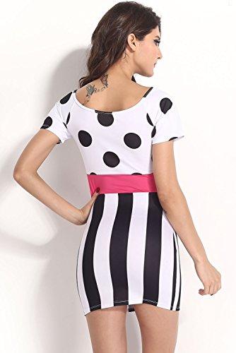 E-Girl femme Multicolore SY21236 mini robe Multicolore