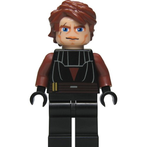 LEGO Star Wars: Anakin Skywalker (Clone) Minifigure with Blue Lightsaber ()