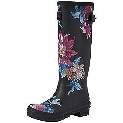 joules women's ajusta wellington boots - 41fSdvgDxdL - Joules Women's Ajusta Wellington Boots