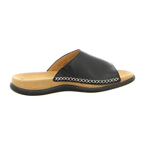 Gabor 03705, Sandales femme Noir