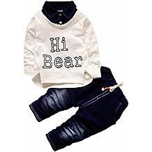 FRYS Ensemble Bebe Garcon Hiver Fashion Vetement bébé garçon Naissance  Printemps Pas Cher Manteau garçon Mode 83a851b9d92