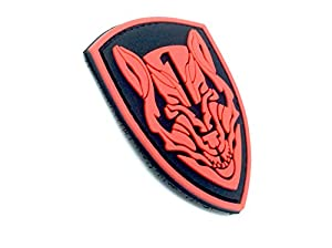 Medal Of Honor MOH Wolfpack Rouge PVC Airsoft Velcro PVC Patch