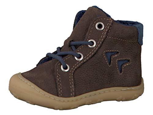 RICOSTA Pepino Unisex - Kinder Winterstiefel Georgie, WMS: Mittel, Winter-Boots Outdoor-Kinderschuhe gefüttert Kind-er Kids,Marone,22 EU / 5.5 UK