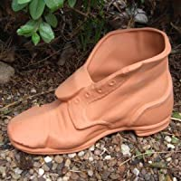 Weston Mill Pottery Terracotta Tramp Boot Planter