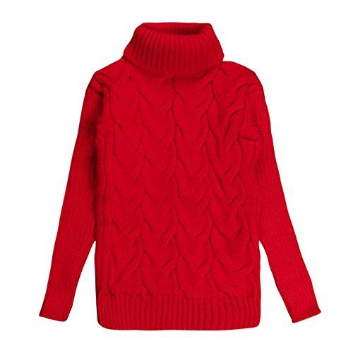 Hawkimin Baby Jungen Mädchen Rollkragenpullover Pullover Weiche warme -