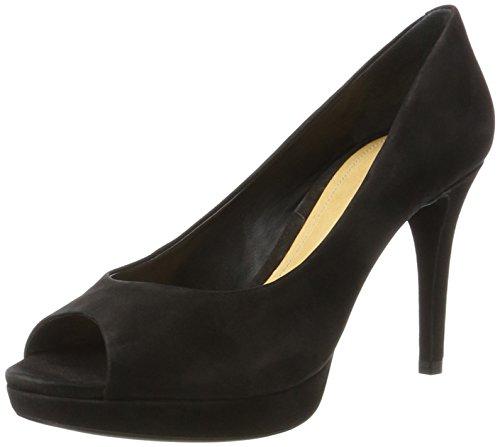 SCHUTZ Damen S2-00660001 Peeptoe Pumps, Schwarz (Black), 39 EU (Schuhe Brasilien)