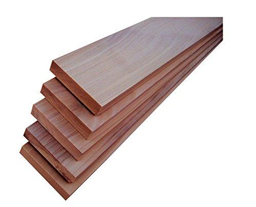 American Holz Zierleiste P0341x 3x 4Pappel Board–Menge 1