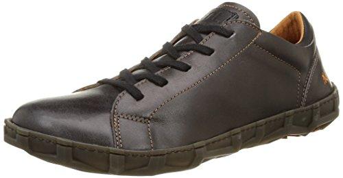 Art Melbourne 768, Chaussures Lacées Homme Noir (Black)