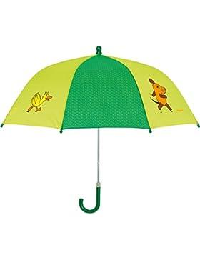 Playshoes DIE MAUS Unisex Regenschirm Maus, Elefant und Ente, Die Sendung mit der Maus
