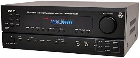 Pyle 5.1CH HDMI AMP(BLUETOOTH) PT588AB