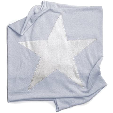 Manta Estrella Celeste de Punto Algodón para Bebé - Modelo STAR Minutus