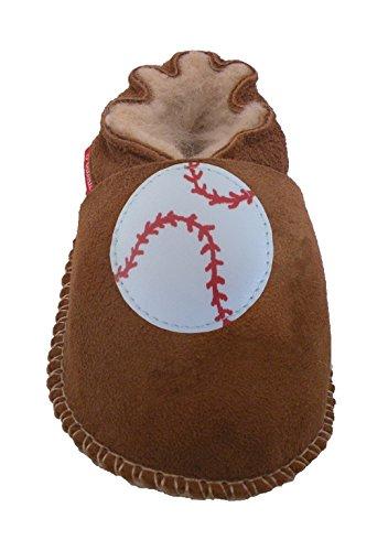 Plateau Tibet - ECHT Lammfell Baby Kinder Schuhe - Baseball, Braun (Chestnut), Gr. 30-31