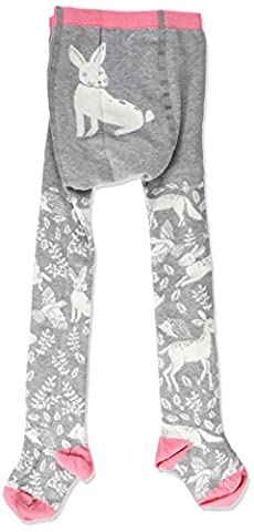 Kite Baby Girls' Woodsy Tights, Grey (Grey Marl), 0-6 Months