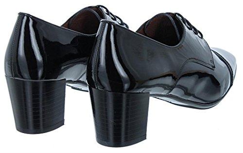 Hispanitas , Chaussures de ville à lacets pour femme Noir