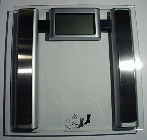 Elektronische Körperanalyse-Waage - Waage mit Analysefunktion von Körperfett - Wasser sowie Muskel und Knochenmasse