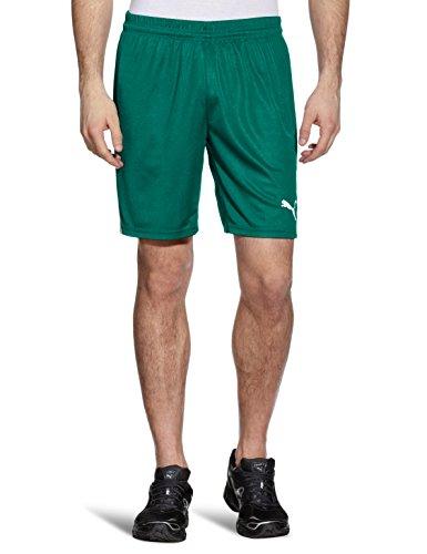 Puma, Pantaloncini da allenamento Uomo Team Pantaloni corti senza slip interno, Verde (team green-white), M