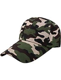 Gorra de Beisbol Camuflaje Unisex Mujer y Hombre Gorra Militar Verano Gorra  de béisbol para Correr 2db15f0f406