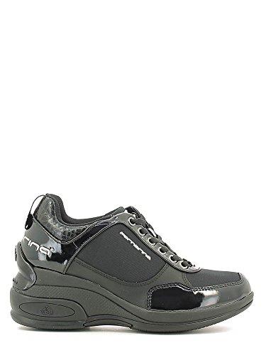 Fornarina PIFDY7615WVA0000 Sneakers Donna Vernice/tessuto Nero Nero 38