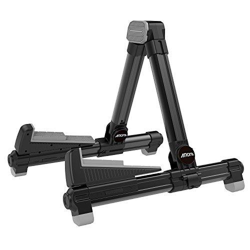 Aroma Soporte suelo aluminio Negro AGS8 ajustable